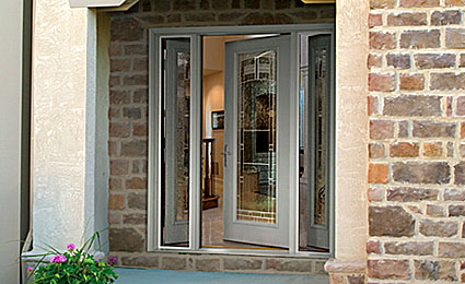 Therma tru doors fox valley marvin doors appleton new for Residential front doors with glass